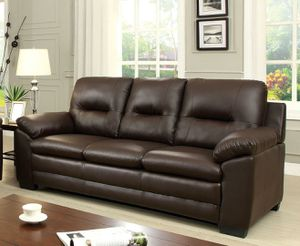 Dark brown sofa couch/Yes We Finance 😁 Message To Apply Today / No Credit Needed - Order Today! for Sale in Downey, CA