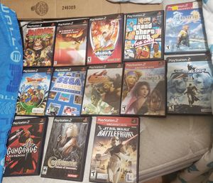 Ps2 lot. 13 Games tested for Sale in Houston, TX
