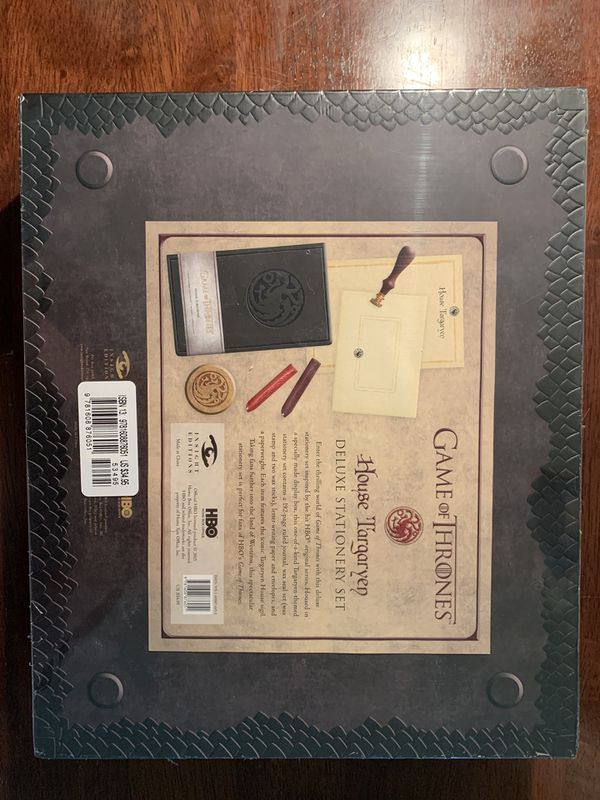 Game of Thrones Deluxe Stationary Set