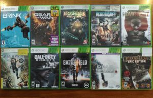 Lot of 10 Xbox 360 Video Games! for Sale in Youngtown, AZ