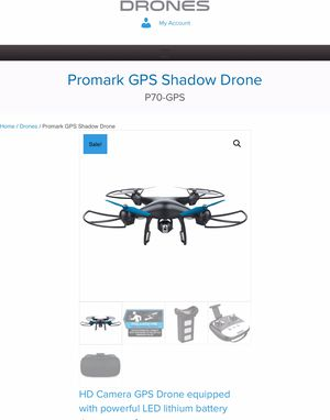 GPS Drone with Virtual Reality Goggles for Sale in Dallas, TX