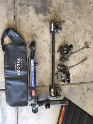RV Towing Equipment - tow bar, brake buddy, rock guard for Sale in Litchfield Park, AZ