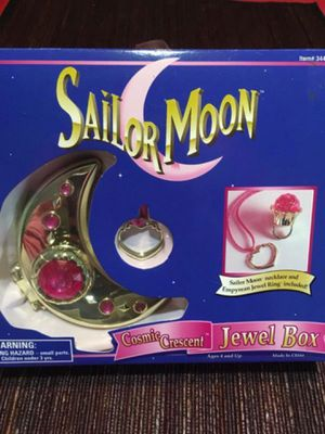 Sailor moon Cosmic Crescent Jewel Box 1995 **see description** for Sale in Tamarac, FL