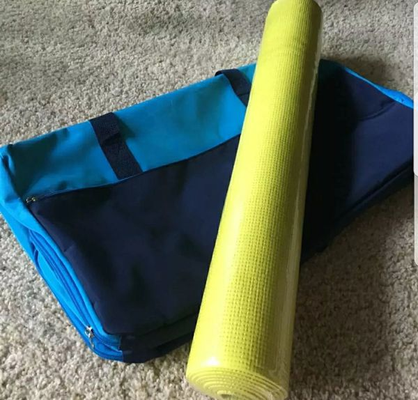 Workout Tote/Duffle Bag and Yoga Mat