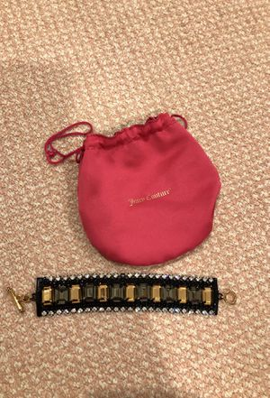 Juicy couture bracelet used once for Sale in Boston, MA