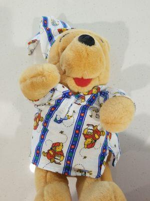 Disney Bedtime Winnie The Pooh Teddy Bear Plush in Pajamas for Sale in Queen Creek, AZ