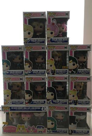 Sailor Moon Funko Pops Lot for Sale in Las Vegas, NV