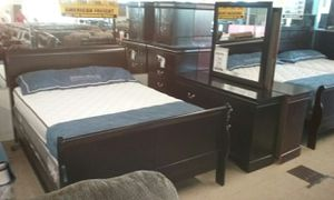 Queen bedroom sets starting as low as $498 for Sale in St. Louis, MO