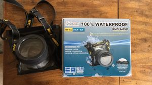Dicapac Waterproof DSLR Camera Case for Sale in Laurel, MD