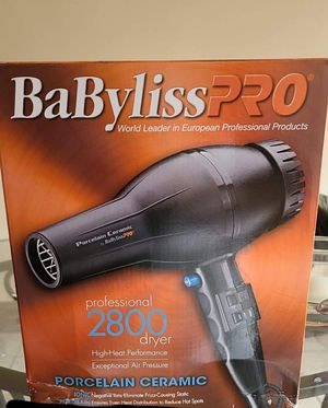 Babyliss pro hair dryer for Sale in Chicago, IL