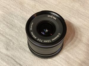 Laowa 7.5mm Wide Angle Micro 4/3 Lens for Sale in Las Vegas, NV