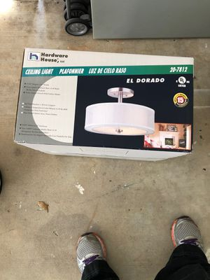 Flush mount fixture-new in box. for Sale in Tampa, FL