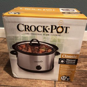 Crock-Pot Classic 4.5qt -Brand New!!!! for Sale in Santa Ana, CA