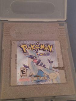 Pokemon Silver GBC. Cart Only for Sale in Auburn,  WA