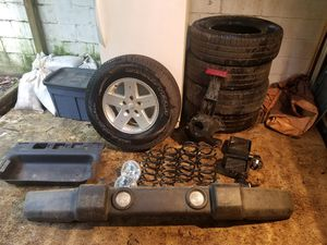 Jeep jk tires and parts for Sale in Raleigh, NC