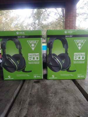 Turtle beach wireless headset stealth 600 for Sale in Tampa, FL