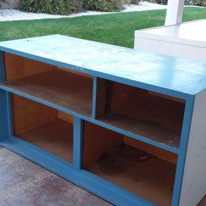 Blue Shelf Storage Organizer for Sale in Menifee, CA