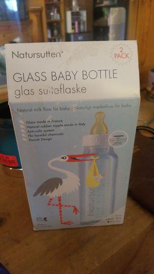 Natursutten Glass baby bottle for Sale in Ontario, CA