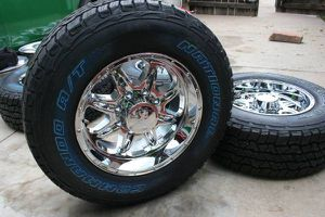 New 18X9 Chrome Rims & LT 275 70 18 Commando A/T+ Tires *FORD* *8X170* for Sale in Aurora, CO