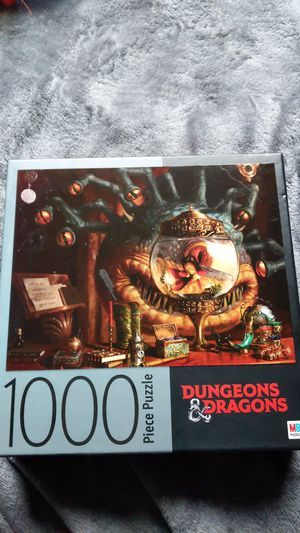 Dungeons and dragons 1000 piece puzzle for Sale in Vancouver, WA