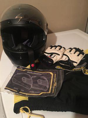 Scorpion Helmet & Icon gloves for Sale in Alexandria, VA