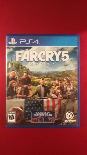 Farcry 5 ps4 game for Sale in Phoenix, AZ