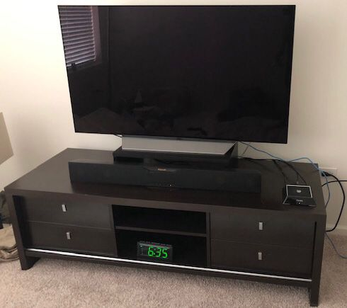 """63"""" Wide TV stand / media console"""