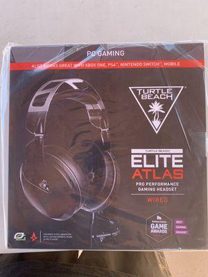 Turtle Beach Elite Atlas Gaming Headset for Sale in Buena Park, CA