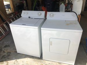 Whirlpool Washer and Dryer for Sale in Idaho Springs, CO