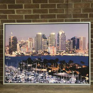 San Diego Skyline Mural for Sale in Framingham, MA
