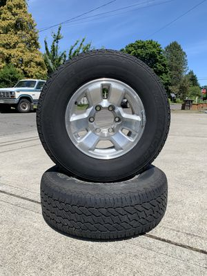 1998 4Runner Chrome-Alloy Rims &Tires for Sale in Hillsboro, OR