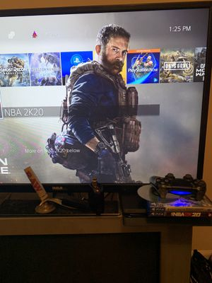 Ps4 slim, 1tb with monster hunters, 2k20, new ghost recon, and call of duty mw pre ordered for Sale in Decatur, GA