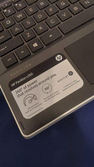 Laptop. HP pavilion x360.,Touch Screen. for Sale in Washington, DC