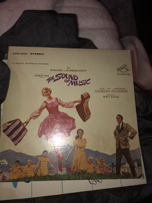 Sound of music vinyl for Sale in Schaumburg, IL