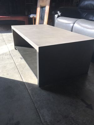 CONCRETE COFFEE TABLE!! BRAND NEW!!! for Sale in Woodinville, WA