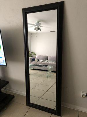 "Floor/Wall Mirror 28 x 70"" for Sale in Largo, FL"