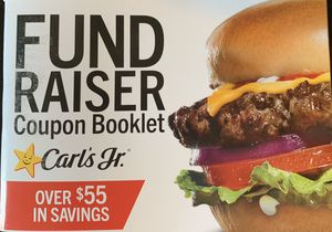 Carl's Jr. Coupon Booklet for Sale in Garden Grove, CA