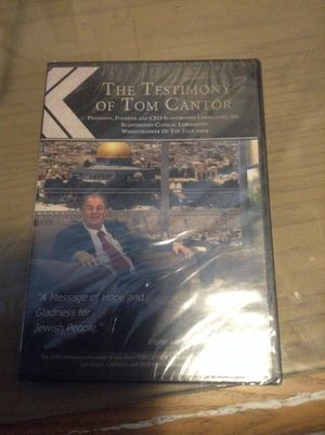 The testimony of Tom cantor for Sale in Hialeah, FL