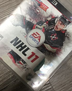 PS3 Play station 3 NHL 11 for Sale in Victorville, CA
