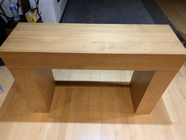 West Elm Sofa/Console Table