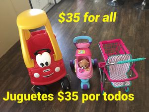 Juguetes for Sale in Tomball, TX