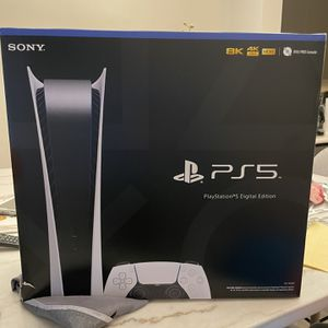 Brand New PlayStation 5 Digital Edition. for Sale in Pompano Beach, FL