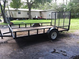6.4x12 utility trailer for Sale in Dover,  FL