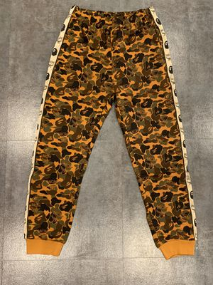 Bape x MCM pants size XL and L for Sale in Glendale, CA