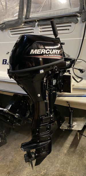 "2018 Mercury 9.9 HP 9.9EXLH-CT Outboard 25"" shaft for Sale in Lake Stevens, WA"