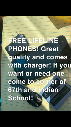 Free Phones! for Sale in Phoenix, AZ