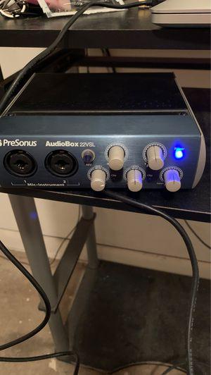 Presonus AudioBox 22VSL for Sale in Plantersville, MS