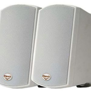 Product Description Klipsch AW-400 Indoor/Outdoor Speaker - White (Pair) OPEN BOX The compact and durable Klipsch AW-400 all-weather loudsp for Sale in Euless, TX