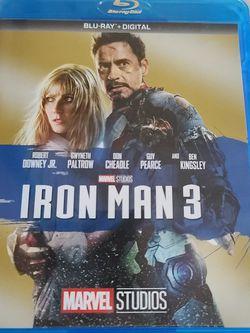 Iron Man 3 Bluray for Sale in Glendale,  AZ