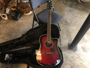 Limited Edition Randy Jackson Acoustic Guitar and Amp for Sale in Conyers, GA